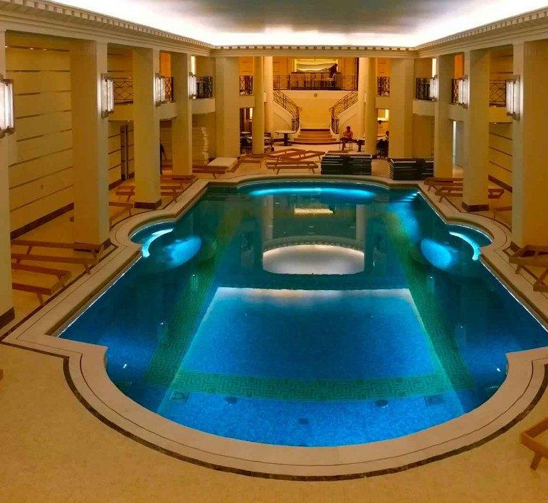 Coronación piscina Mallebrera